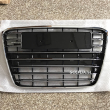 black painted ABS A8 original Style replacement Front Hood Center Grille bumper Grill for Audi A8 D4 2012-2013 4H0853651GH