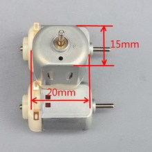 1 PC 130 DC Motor Micro Motor For DIY Four-wheel Motor small drive Scientific Experiments  Best Selling VEG91 P10