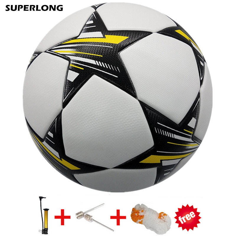 Size 5 Soccer Champions League Football ball PU Granule Slip-resistant Seamless Soccer ball Professional Match futbol futebol(China)