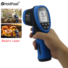 HoldPeak HP-1500 Temperature Measuring Instruments Pyrometer 120 degree & Above Infrared Thermometer Digital Pyrometers(China)