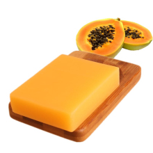 Natural Thailand Green Papaya Whitening Handmade Soap Whitening Skin Care Remove Acne Moisturizing Deep Cleansing Bath Soap 100g(China)