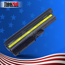 Replacement Brand New Laptop Battery for IBM Lenovo ThinkPad R60 R61 T60p T61p SL400 SL500 R500 W500 T500(China)