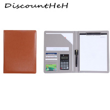 1 pcs  A4 multi-function business office dedicated folder sales manager clip/signing   contract folders