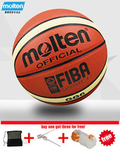 Wholesale or retail Brand Cheap Molten GG6 Basketball Ball PU Materia Official Size 6 Basketball indoor and outdoor Ball Women