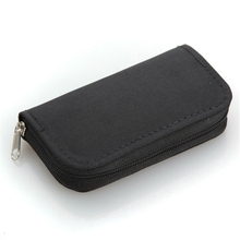 22 Slot Best Quality For SD SDHC MMC CF Micro Memory Card Case Holder Storage Carrying Wallet Pouch Bag Protector