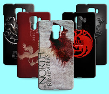 Ice and Fire Cover Relief Shell For Huawei Honor 7 8 Cool Game of Thrones Phone Cases For Huawei Honor 7i V8(China)