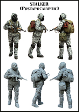 1/35 Resin Figure Model Kit Biochemical soldiers-E117 Unassambled Unpainted(China)