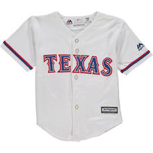 MLB Newborn & Infant Texas Rangers White Home Cool Base Jersey(China)