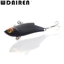 1Pcs 5.5cm 10g VIB Hard Fishing Lure Rattlin Hook Fishing 5 Colours Sinking Vibra Rattlin Hooking Lures Crank Baits NE-315(China)