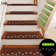 Buy Urijk 1PC Luminous Step Stair Mat Carpet Keep Warm Floor Mats Area Rugs Easy Clean Stairs Door Anti-skid Mats Non-slip Carpet for $4.69 in AliExpress store