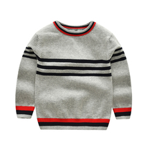 MCYYXY Sweaters for girls boys pullover knitting cotton button stripe cardigan for children baby winter autumn Wholesale 3-7T(China)