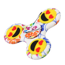 Buy Luminous EDC Smile Face Fidget Spinner Glow Autism ADHD Relief Focus Anxiety Stress Gift Fidget Toys for $1.39 in AliExpress store