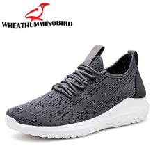 2018 brand new fashion men casual flats shoes male lace mesh breathable lightweight sneaker boys canvas shoes QA-03
