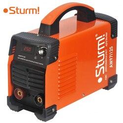 Аппарат сварочный инверторный Sturm! AW97I125 (Диапазон тока 30-250 А, мощность 6600 Вт, диаметр электрода 5 мм, продолжительность включения при макс. то...