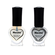 Nail Polish 2 Bottles Set Mirror Silver Color Nail Art Polish Varnish Beauty Manicure DIY(China)
