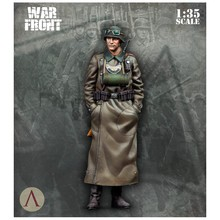 1/35 Resin Figure Model Kit The German military police Unassambled Unpainted(China)