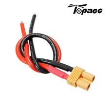 High Quality Outdoor Toys 100mm XT30 Connector Plug Cable 18AWG Battery Charging Cable For RC Models(China)