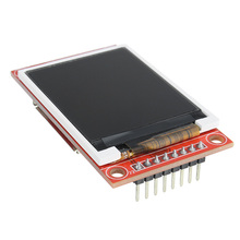 "1.8"" Serial 128X160 SPI TFT LCD Module Display + PCB Adapter Power IC SD Socket"