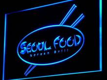 i972 Seoul Food Korean Restaurant NEW Decor Neon Light Sign On/Off Swtich 7 Colors 4 Sizes