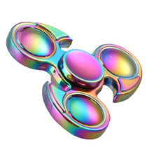 Buy 2017 New Toys Rainbow Bird Hand spinner Fidget Metal Fidget Spinner Autism ADHD Kids Hand Fidget stress for $5.88 in AliExpress store