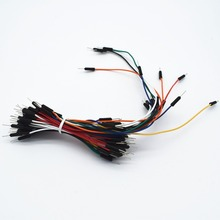 65pcs=1set Jump Wire Cable Male to Male Jumper Wire for Breadboard 65 jump wires(China)