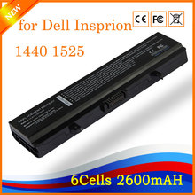 14.8V 2600 4cell High Performance Notebook Laptop Battery for Dell Insprion 1440 1525 1526 1545 1546 1750 Vostro 500(China)
