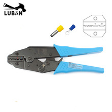 HS-06WF2C EUROP STYLE RATCHET crimping tool crimping plier 0.5-2.5mm2 tools hands pliers multi tool(China)