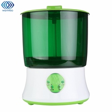 New Automatic Bean Sprouts Machine Three Layers Multifunctional Homemade Sprout Bud Machine Intelligent Microcomputer Control