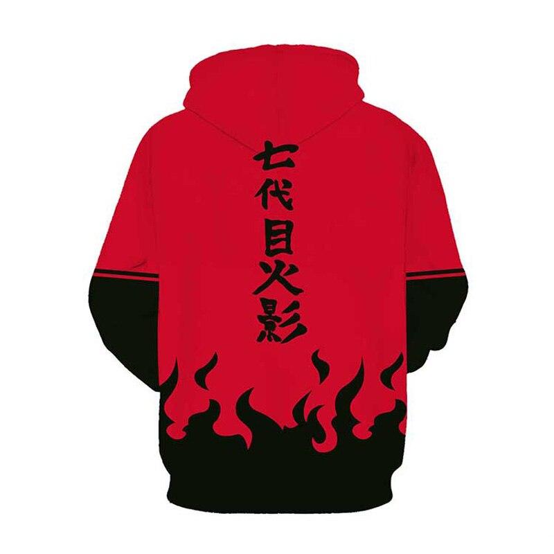 Coshome Naruto 3D Hoodies Anime Boruto Akatsuki Jacket Uchiha Itach Cosplay Costumes Kakashi Sweatshirt Men (17)