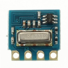 New Electric remote control module 433M wireless remote control toy module super heterodyne radio frequency Module Board(China)