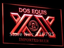 a042 Dos Equis Beer Bar Pub Restaurant Neon Sign with On/Off Switch 7 Colors 4 Sizes to choose