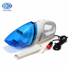 1Pcs 60W Mini 12V Car Auto Wet Dry Handheld Vacuum Cleaner Portable Lightweight High Power 2.4M Rechargeable Vacuum Cleaner
