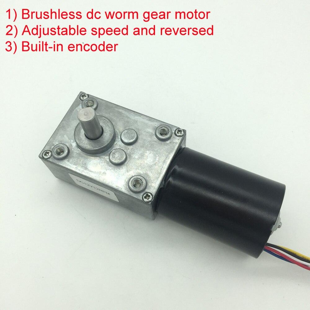 Wholesale 5840-3650 Brushless Dc Motor Worm Gear Motor With 24v Brushless Motor For Reversible 12 Volt Gear Motor<br>