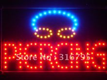 led031-r Piercing LED Neon Light Sign with Whiteboard Wholesale Dropshipping(China)