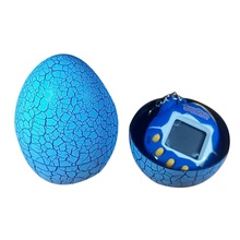 Egg Shape Virtual Cyber Digital Pets Electronic Digital E-pet Retro Funny Toy Handheld Game Pet Machine Toy(China)
