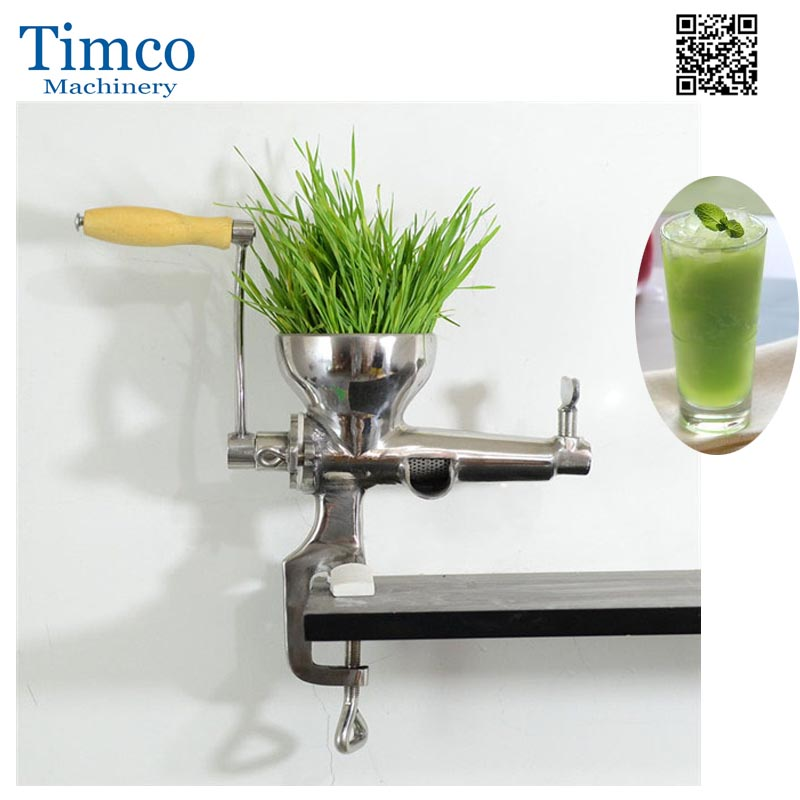 TIMCO Home Stainless Steel Wheatgrass Juicer Manual Wheatgrass Extractor<br>