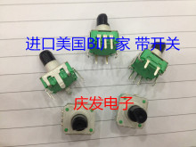 Original new 100% United States import BI manufacturer of rotary encoder potentiometer with switch line 5 pin 360 unlimite(China)