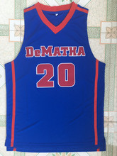 Markelle Fultz #20 High School Retro Throwback Stitched Basketball Jersey Sewn Camisa Embroidery Logos(China)