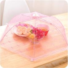 Meal cover Hexagon gauze table mesh Breathable food cover Umbrella Style Anti Fly Mosquito Kitchen cooking Tools(China)