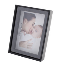 UXCELL Home Ornament Display Picture Photo Frame Christmas Gift Black 5 X 3.5 Inches(China)