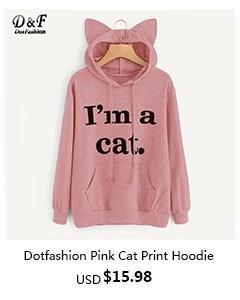 Dotfashion- pink hoodie