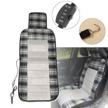 Car Winter Heated Seat Cushion Cover 12V DC Heater Heating Warmer Pad Universal Seat Cover Warmer Electric With High/Low Switch(China)