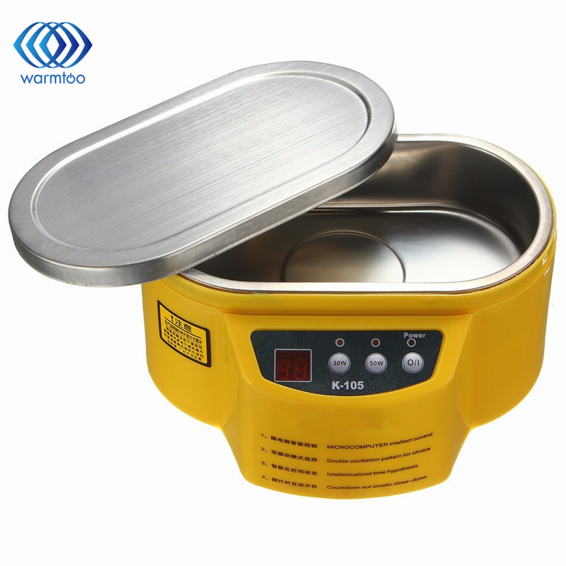 30W/50W Smart Ultrasonic Cleaner Bath for Jewelry Glasses Circuit Board Cleaning Machine Intelligent Control Ultrasonic Cleaning<br>