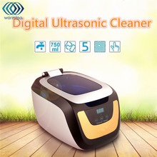 Warmtoo 750ml Ultrasonic Jewelry Cleaner Touch Digital Multi Purpose Cleaning Machine 42000Hz With AU Plug AC220-240V 50W