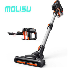MOLISU Portable House Hand-Held Vacuum Cleaner Cleaning Appliances Quiet Dust Collector Home Rod Handheld Manual Vacuum Cleaner(China)