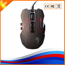 YHR Wired Gaming Game Mouse 3200dpi Professional USB Computer Mice For Laptop Desktop PC Support Macro Programming 9D Buttons(China)