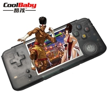 CoolBaby RS-97 Retro Handheld Game Player Bulit-in 1151 Retro Games 64 Bit 3.0 Inch Game Console Support For Nintendo Series(China)