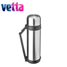 "METAL THERMOS ""TOURIST"" VETTA wide mouth  SILVER discount sale high quality vacation travel hiking lure 841-058/059/060/061"