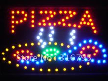 led060-r Pizza Shop LED Neon Sign WhiteBoard Wholesale Dropshipping(China)