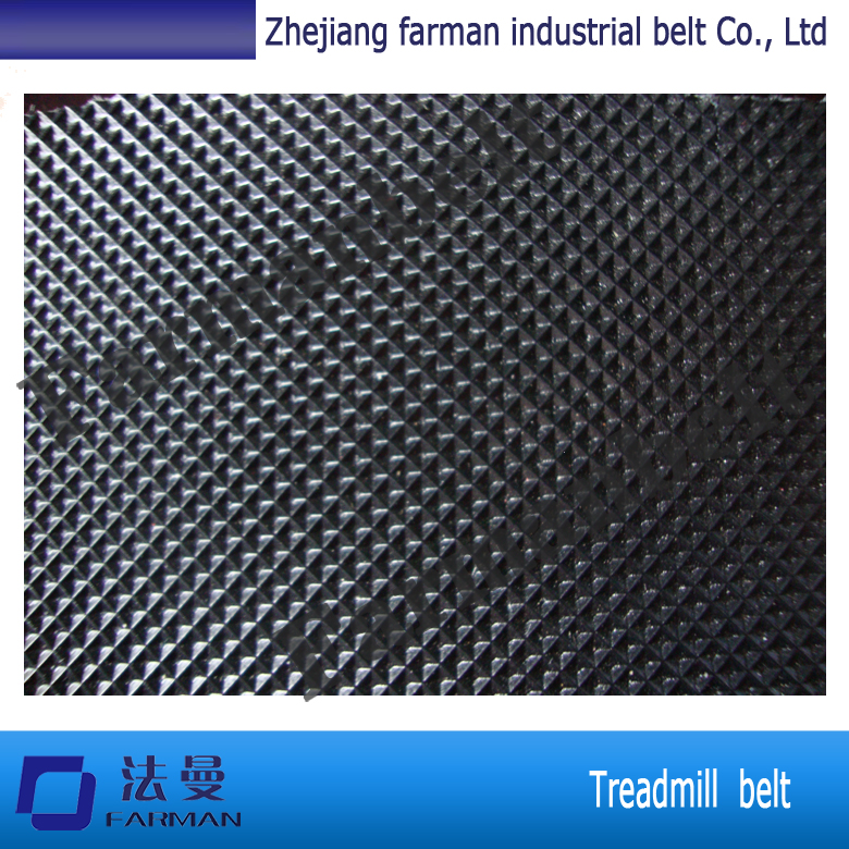 Farman 1.5mm thickness black diamond pattern treadmill belt<br>